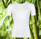 Boru Bamboo Heren T-shirt Wit