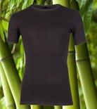 Boru Bamboo Heren T-shirt Zwart