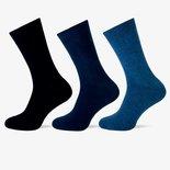 Teckel 3-Pack sokken Blauw ass