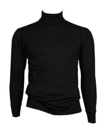 beeren ondergoed Coll shirt Thermo L.M.  zwart