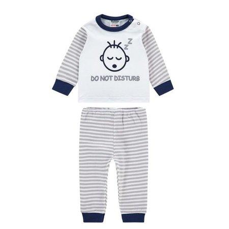 Baby Pyjama M3000 Do Not Disturb Blauw