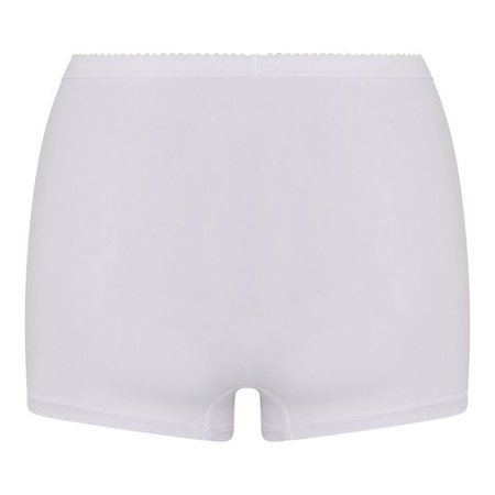 2-pack Dames Panty Softly Wit