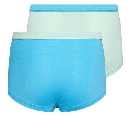 2-Pack Mix&Match Meisjes boxers Mint/Turqouise