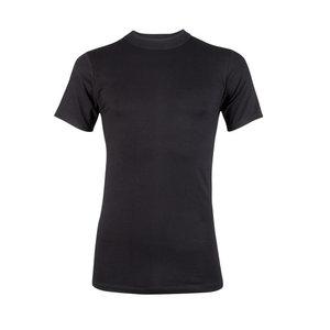 Heren T-shirt K.M. Beeren Young Zwart zachte micro stof)